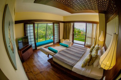 Hunas Falls - отель на чайных плантациях Шри Ланки