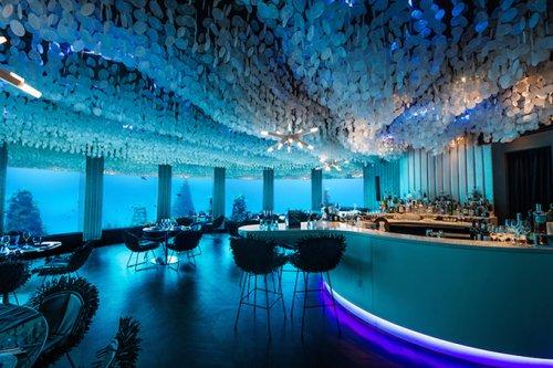Подводный ресторан The Subsix