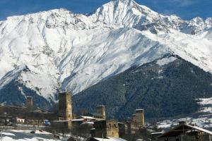 Грузия: В Сванетии появился новый горнолыжный курорт