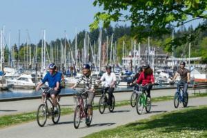 Канада: Ванкувер пересаживается на велосипеды