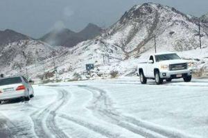 ОАЭ: В Эмираты пришла настоящая зима