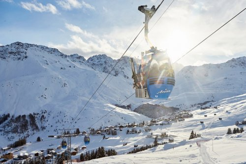 Ароза - сказка в Альпах