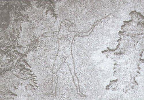 Австралийский загадочный геоглиф или человек Марри