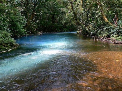 Голубая река Рио Селесте