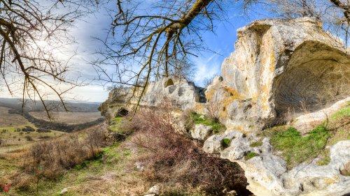 Пешком на Баклу. Крым
