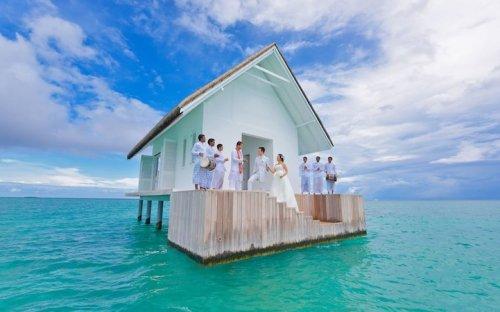 Свадьба посреди Индийского океана